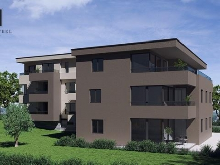 ISTRIA - TAR, for sale an apartment under construction on the first floor in building 'A' of 62 sqm, with a parking space and storage 2